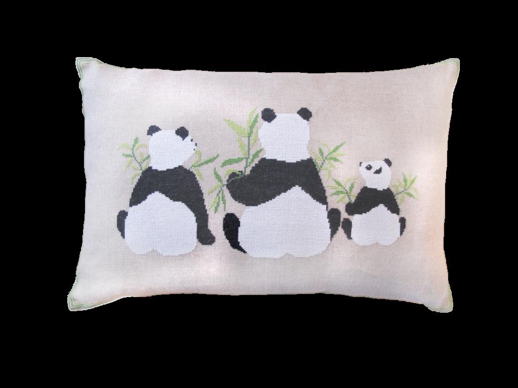 20-6983 Panda'er 40x60 cm af Marianne Thornberg